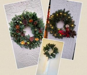 Our Christmas Wreaths