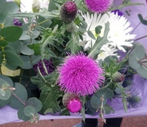 Just a really nice big bunch of flowers, colour mix, your choice!!.