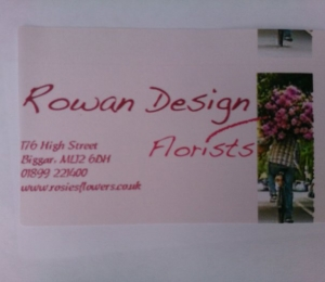 our fun business card